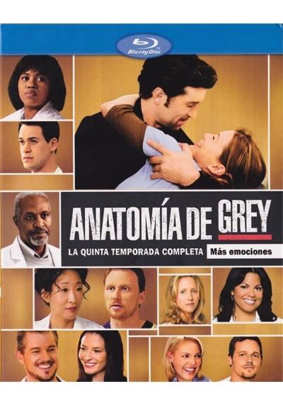 Anatomia De Grey - Quinta Temporada (Blu-Ray)