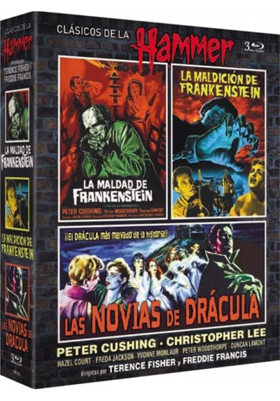 Pack Clasicos De La Hammer (Blu-Ray)