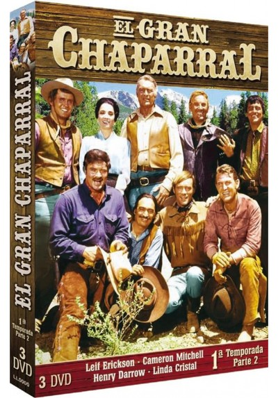 El Gran Chaparral : 1ª Temporada - Parte 2 (The High Chaparral)