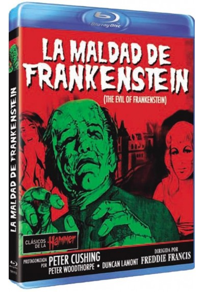 La Maldad De Frankenstein (Blu-Ray) (The Curse Of Frankenstein)