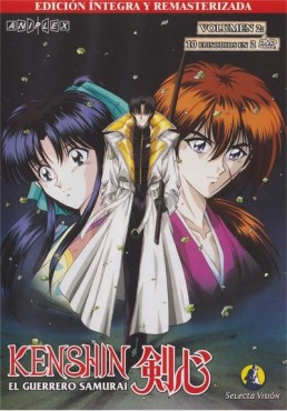 Kenshin : El Guerrero Samurai  Vol. 2 (Episodios 11-20)