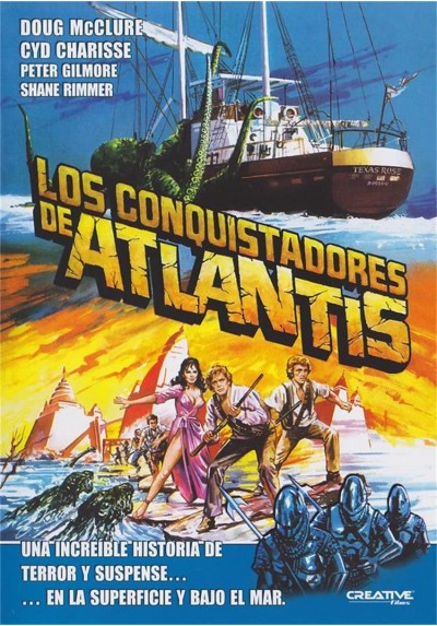 Los Conquistadores De Atlantis (Warlords Of Atlantis)