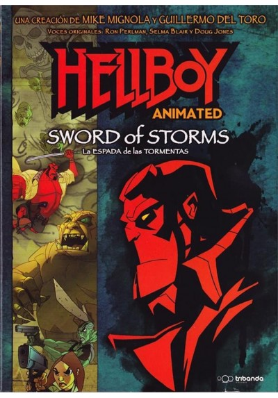 Hellboy : La Espada De Las Tormentas (2006) (Hellboy Animated : Sword Of Storms)