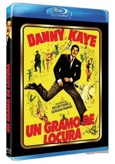 Un Gramo De Locura (Blu-Ray) (Knock On Wood)