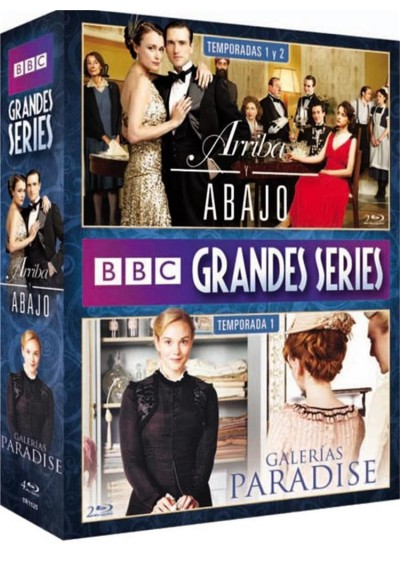 Grandes Series Bbc (Blu-Ray) (Pack)