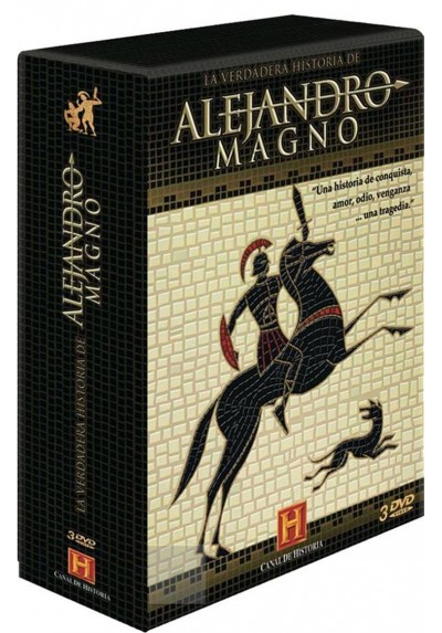 Pack La Verdadera Historia de Alejandro Magno