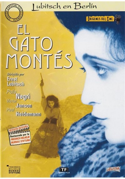 El Gato Montes (1921) (Origenes Del Cine) (Die Bergkatze)