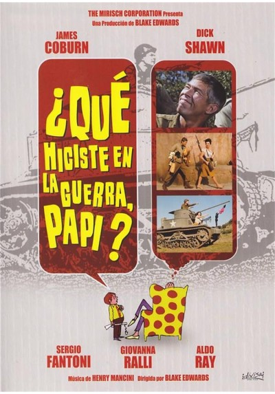 Que Hiciste En La Guerra, Papi? (What Did You Do In The War, Daddy?)