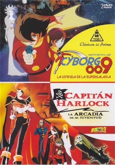 Agente Espacial 2009 - Cyborg 009 / Capitan Harlock : La Arcadia De Mi Juventud