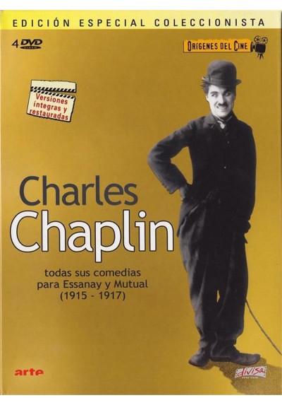 Charles Chaplin : Todas Sus Comedias (1915 - 1917) (Origenes Del Cine) (Ed. Coleccionista)