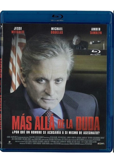 Mas Alla De La Duda (2009) (Blu-Ray) (Beyond A Reasonable Doubt)