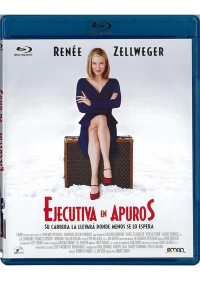 Ejecutiva En Apuros (Blu-Ray) (New In Town)