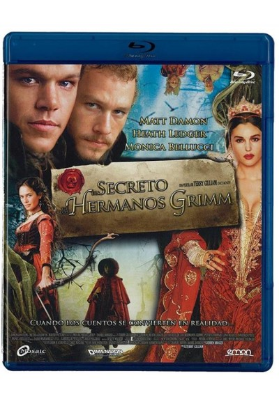 El Secreto De Los Hermanos Grimm (Blu-Ray) (The Brothers Grimm)