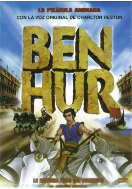 Ben Hur, la pelicula animada