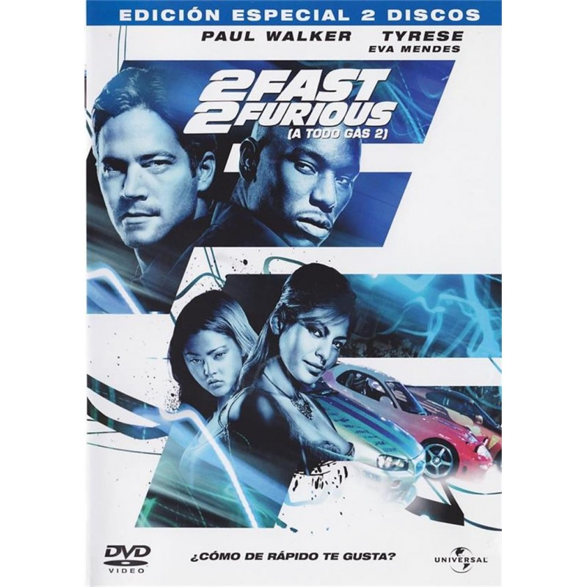 2 Fast Furious A Todo Gas Ed Especial Extras