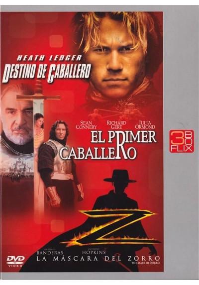 Destino De Caballero / El Primer Caballero / La Mascara Del Zorro
