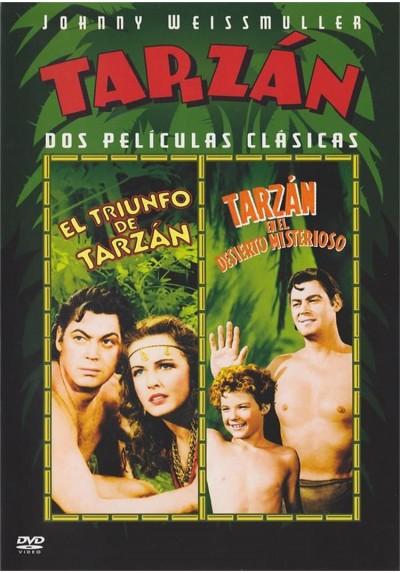 El Triunfo De Tarzan / Tarzan En El Desierto Misterioso(Tarzan Triumphs / Tarzan´s Desert Mystery)