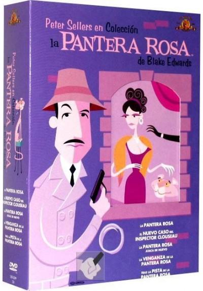 Pack La Pantera Rosa Colección Peter Sellers