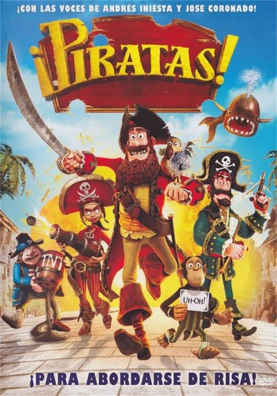 Piratas! (Animacion) (The Pirates! In An Adventure With Scientists!)
