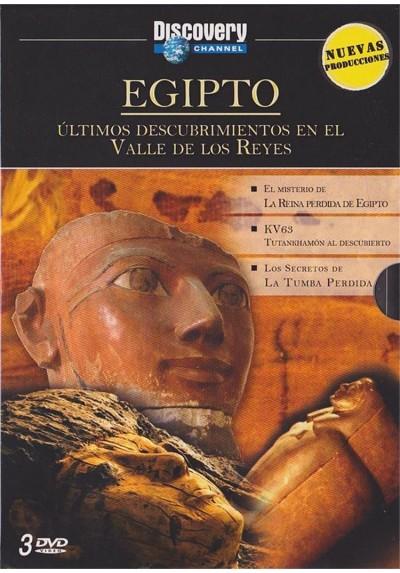Discovery Channel : Egipto - Ultimos Descubrimientos En El Valle De Los Reyes
