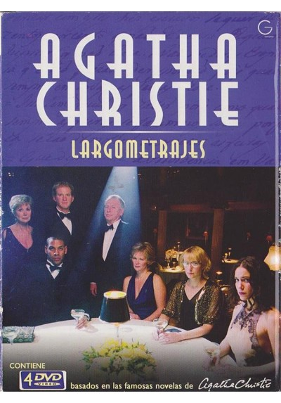 Agatha Christie - Largometrajes (Pack)