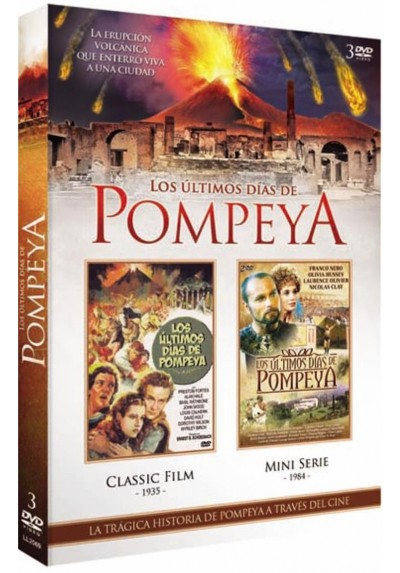Pack Los Ultimos Dias De Pompeya