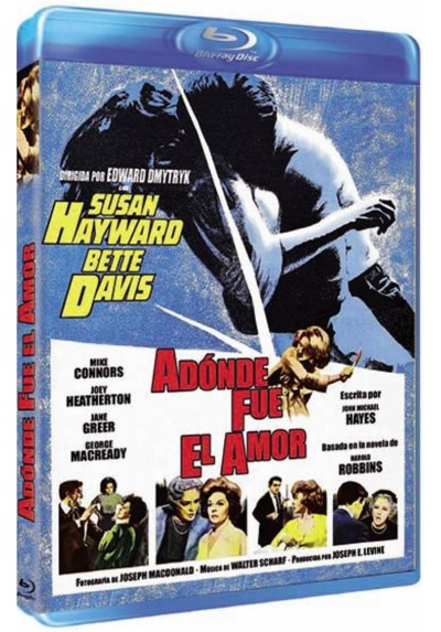 ¿Adonde fue el amor? (Blu-Ray) (Where Love Has Gone?)