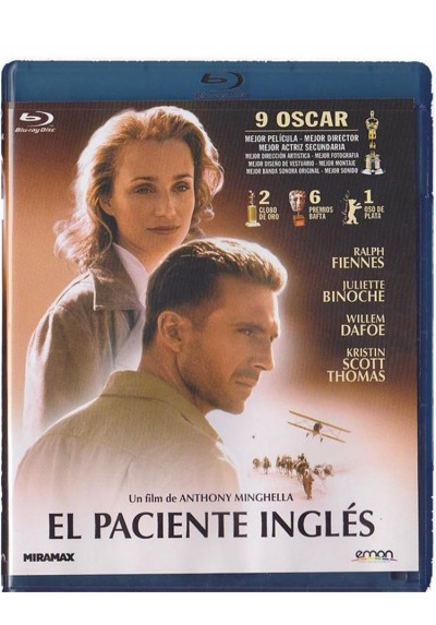 El Paciente Inglés  (Blu-Ray) (The English Patient)