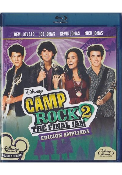 Camp Rock 2 : The Final Jam (Blu-Ray + Dvd) (Camp Rock 2 : The Final Jam)