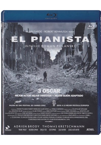 El Pianista (Blu-Ray) (The Pianist)