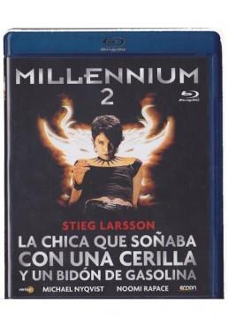 Millennium 2 : La Chica Que Soñaba Con Una Cerilla Y Un Bidon De Gasolina (Blu-Ray)