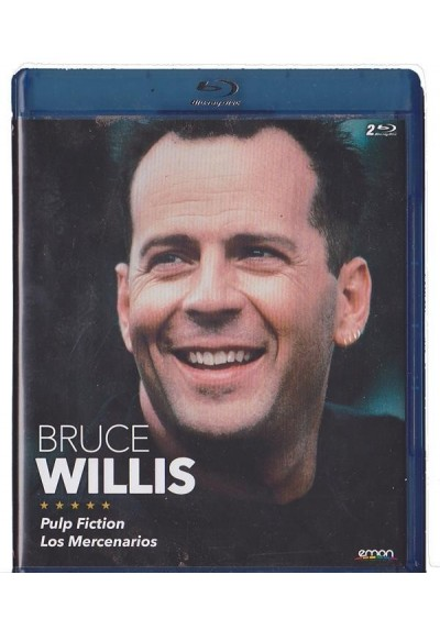 Bruce Willis : Pulp Fiction / Los Mercenarios (Blu-Ray)
