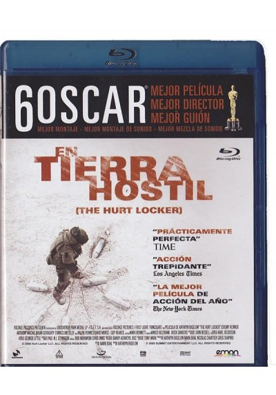 En Tierra Hostil (Blu-Ray) (The Hurt Locker)