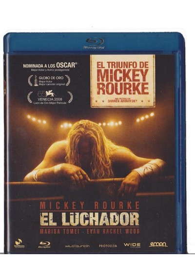 El Luchador (2008) (Blu-Ray) (The Wrestler)