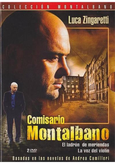 Comisario Montalbano - Vol. 1 : El Ladron De Meriendas / La Voz Del Violín