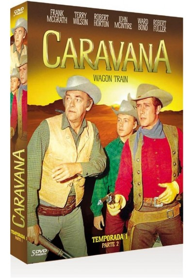 Caravana : Temporada 1 - Parte 2 (Wagon Train)