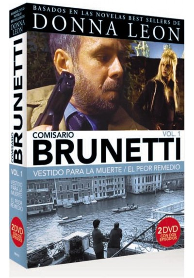 Pack Comisario Brunetti - Vol. 1