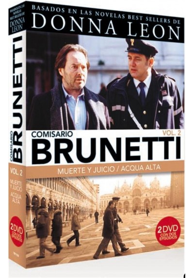Pack Comisario Brunetti - Vol. 2