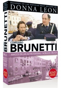 Pack Comisario Brunetti - Vol. 3