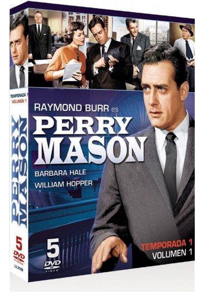 Perry Mason : Temporada 1 - Vol. 1