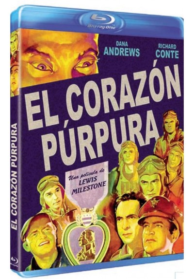 El Corazon Purpura (Blu-Ray)(The Purple Heart)