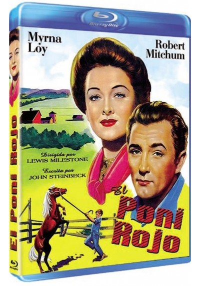 El Poni Rojo (Blu-Ray)(The Red Pony)