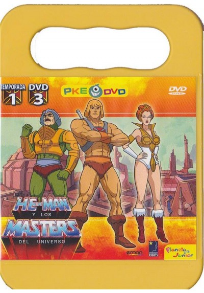 He-Man y los Masters del Universo Temp. 1 DVD 3