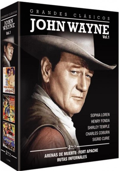 John Wayne - Vol. 1 (Blu-Ray)