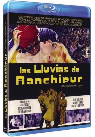 Las Lluvias De Ranchipur (Blu-Ray)(The Rains Of Ranchipur)
