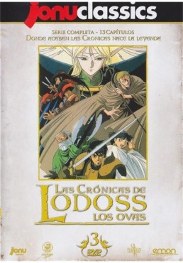 Las Crónicas De Lodoss -Los Ovas- : Serie Completa (Lodoss To Senki: Eiyuu Kishi Den)