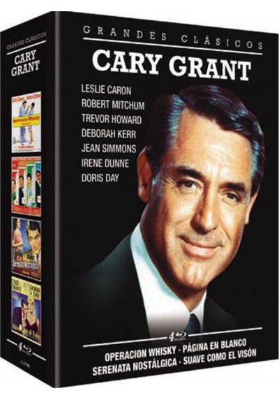 Grandes Clasicos Cary Grant  (Blu-Ray)
