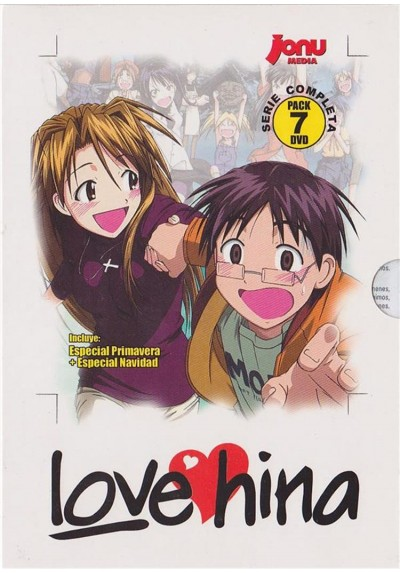 Love Hina + OVAS + Especiales . Serie Completa
