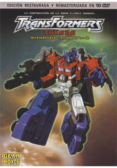 Transformers : Takara Masterforce - Gear Box 6 : (Episodios 01 - 42)