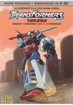 Transformers : Takara Victory - Gear Box 7 : (Episodios 01 - 32)
